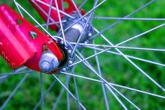 Eje de la bicicleta Imagenes de archivo
