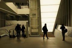 Eje 53 de la estación de la TRAYECTORIA de Oculus Fotografía de archivo