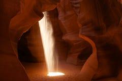 Eje de la luz del barranco Fotografía de archivo libre de regalías