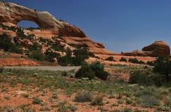 Eje de la pista de Utah Imagen de archivo libre de regalías