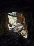 Eje de mina histórico Foto de archivo libre de regalías