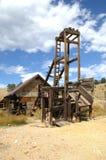 Eje de mina viejo 4 Imagen de archivo libre de regalías