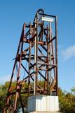 Eje de mina viejo - Australia foto de archivo libre de regalías