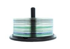 Eje de rotación CD Imagen de archivo libre de regalías