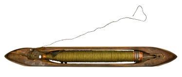 Eje de rotación del `s del tejedor de la vendimia Foto de archivo