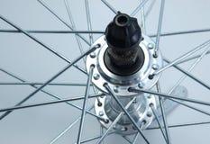Eje de rueda de bicicleta Fotografía de archivo