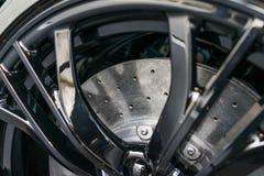 Eje del coche de deportes Imagen de archivo libre de regalías