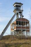 Eje viejo 2 de la mina de carbón Foto de archivo libre de regalías
