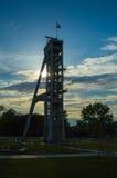 Eje viejo de la mina de carbón Imagenes de archivo