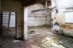 Ejecútese abajo de fábrica Fotos de archivo