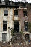 Ejecútese abajo del edificio Foto de archivo libre de regalías