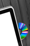 Ejected Compact Disk Stock Photography