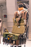 Ejection seat in the Navy ship USS Intrepid Museum Stock Photo