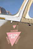 Ejection seat Royalty Free Stock Images