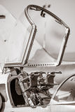 Ejector seat in airplane Stock Images