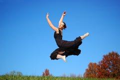 Ejecución de la bailarina Foto de archivo libre de regalías