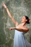 Ejecución de la bailarina Fotografía de archivo libre de regalías