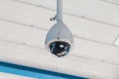 Ejecución de la cámara CCTV Fotografía de archivo