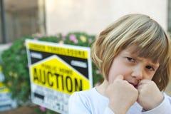 Ejecución de una hipoteca Fotografía de archivo