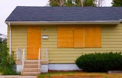 Ejecución de una hipoteca Foto de archivo