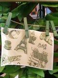 Ejecución del dibujo en la pared imagen de archivo libre de regalías
