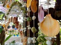 Ejecución móvil de la cáscara natural del mar en la tienda Imagen de archivo libre de regalías