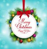 ejecución realista del título de los saludos de la Feliz Navidad 3D libre illustration