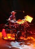 Artista Omar Hakim del batería Imagenes de archivo