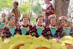 Ejecutante cultural Foto de archivo libre de regalías