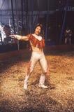 Ejecutante de circo, flora, Indiana Fotografía de archivo