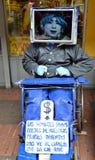Ejecutante de la calle Imagenes de archivo