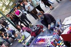 Ejecutante de la calle Imagen de archivo libre de regalías