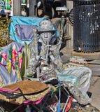 Ejecutante de la calle Imagen de archivo