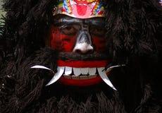 Ejecutante de Warok en Java central imagenes de archivo