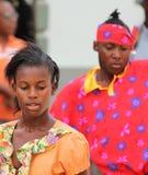 Ejecutante jamaicano de la calle Imagenes de archivo