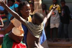 Ejecutante jamaicano de la calle Imagen de archivo