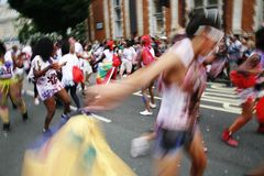 Ejecutantes, carnaval 2012 de Notting Hill Imagen de archivo