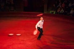 Ejecutantes de circo Imagen de archivo
