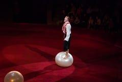 Ejecutantes de circo Imágenes de archivo libres de regalías