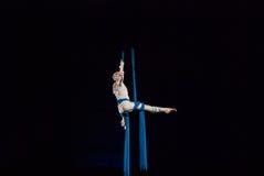 Ejecutantes de circo Fotos de archivo