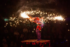 Ejecutantes de circo Fotografía de archivo libre de regalías