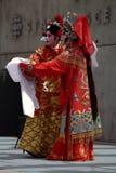 Ejecutantes de la ópera del Cantonese: Princesa patriótica Imagenes de archivo