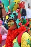 Ejecutantes de la calle del carnaval en Maastricht Imagenes de archivo