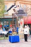 Ejecutantes de la calle en el centro de Epcot Imagen de archivo