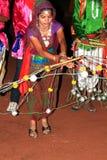 Ejecutantes de Rajasthani Fotos de archivo libres de regalías