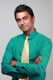 Ejecutivo de operaciones indio Imagen de archivo libre de regalías