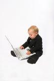 Ejecutivo del bebé Imágenes de archivo libres de regalías