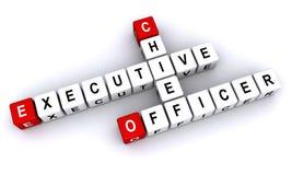 Ejecutivo Officer stock de ilustración