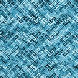 Ejemplo abstracto azul Stock de ilustración