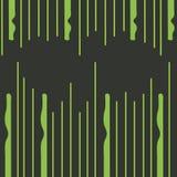Ejemplo abstracto de líneas verticales desiguales y de tiras con curvas que bajan desde arriba y que suben de debajo creativo stock de ilustración